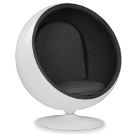 "Кресло CoolArt ""Ball Chair"" (черный)"