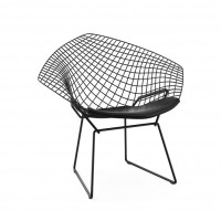 "Стул  CoolArt ""Bertoia diamond"" черная"
